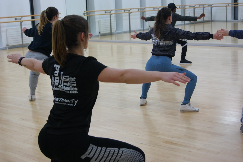 Ipswich, waterfront, dance east, dance class, performance
