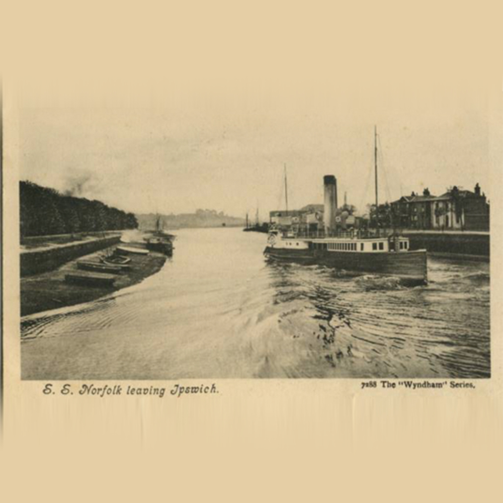 ipswich, paddle steamer, SS Norfolk
