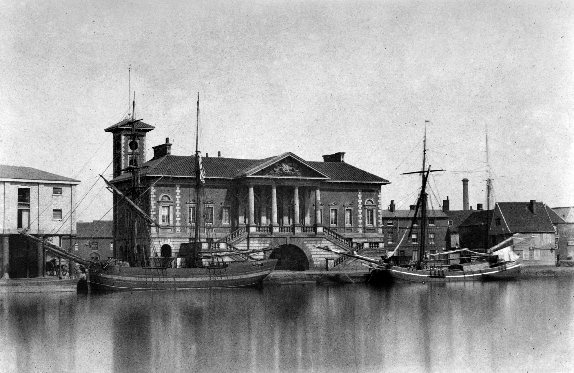 New Custom House Ipswich c.1846.JPG