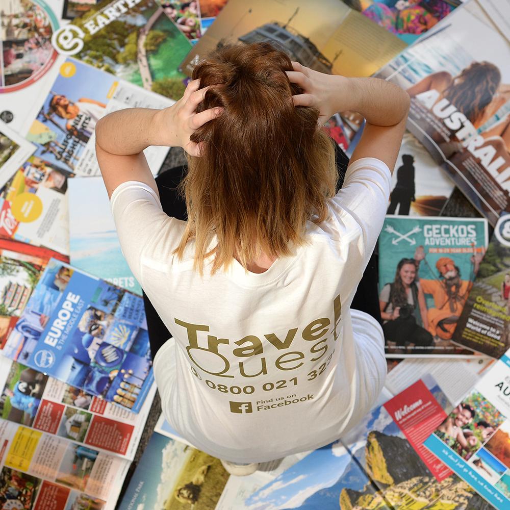 travel quest, ipswich, poppy brown