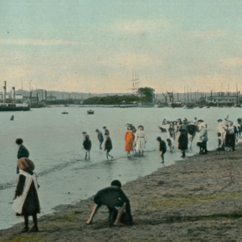 ipswich, cliff quay pleasure beach 1900, ipswich maritime trust