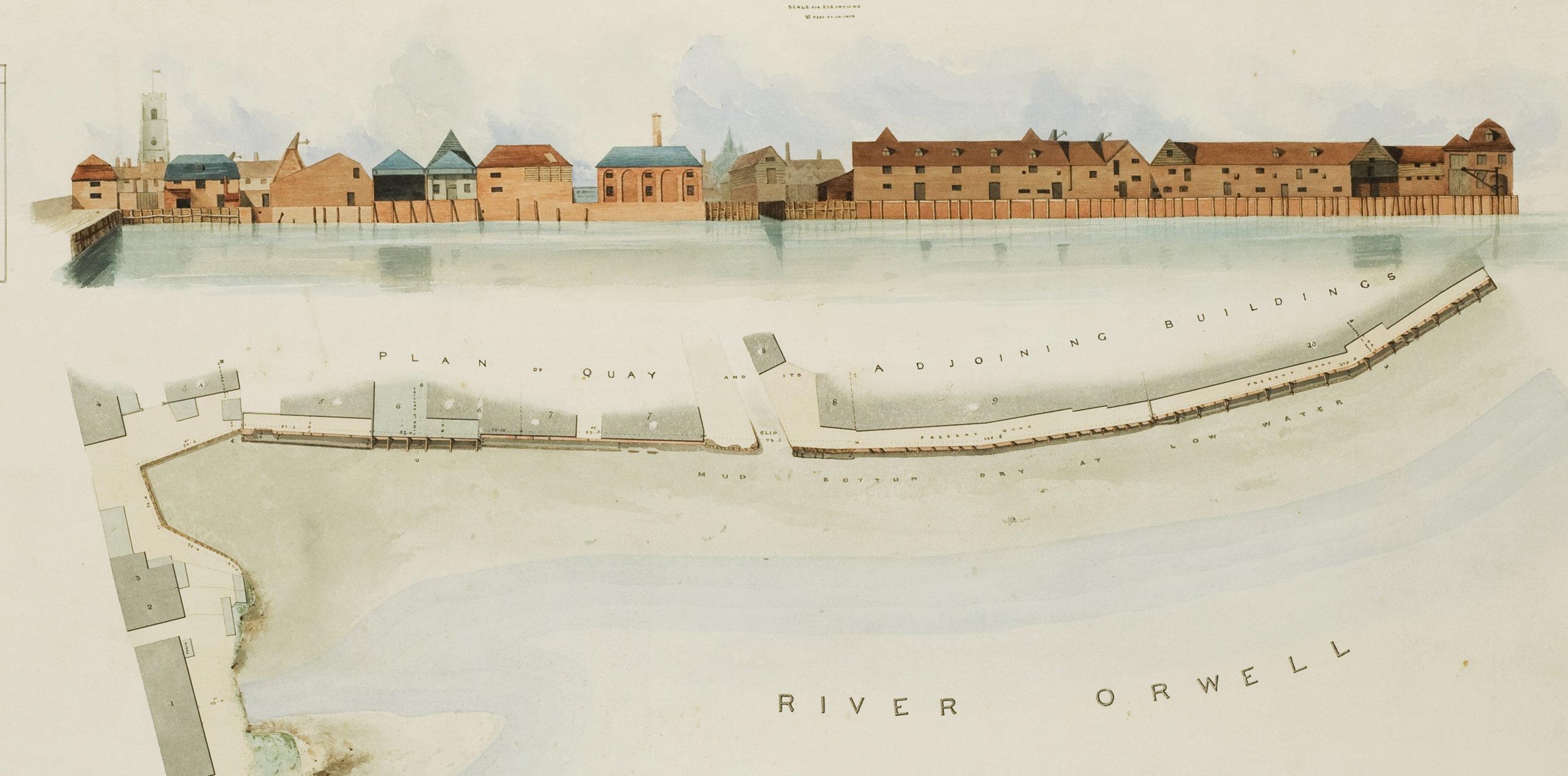 Stoke Bridge Section of Edward Caley's 1837. Courtesy of IMT Image Archive