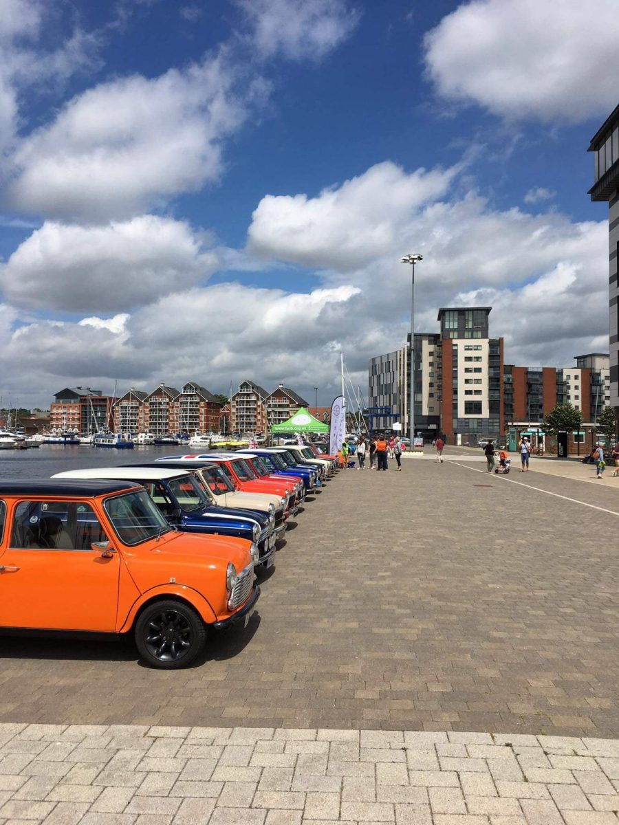 ipswich, classics on the quay, waterfront, classic cars