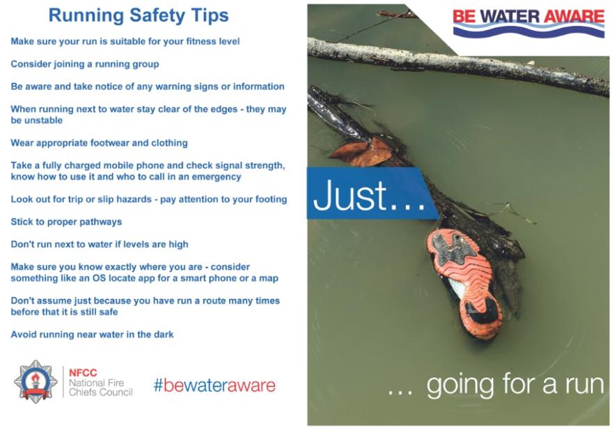 running safety tips, ipswich, suffolk