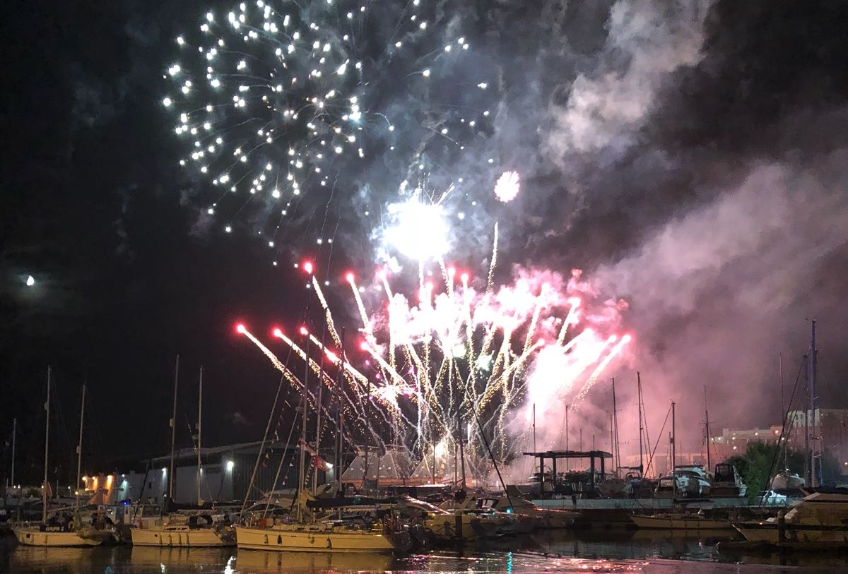 maritime festival ipswich waterfront 2018 fireworks