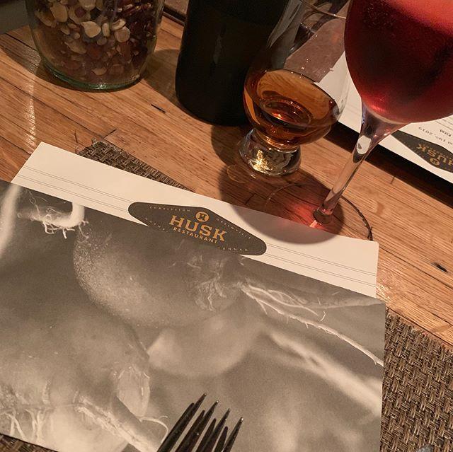 Ending our vacation with dinner @huskrestaurant