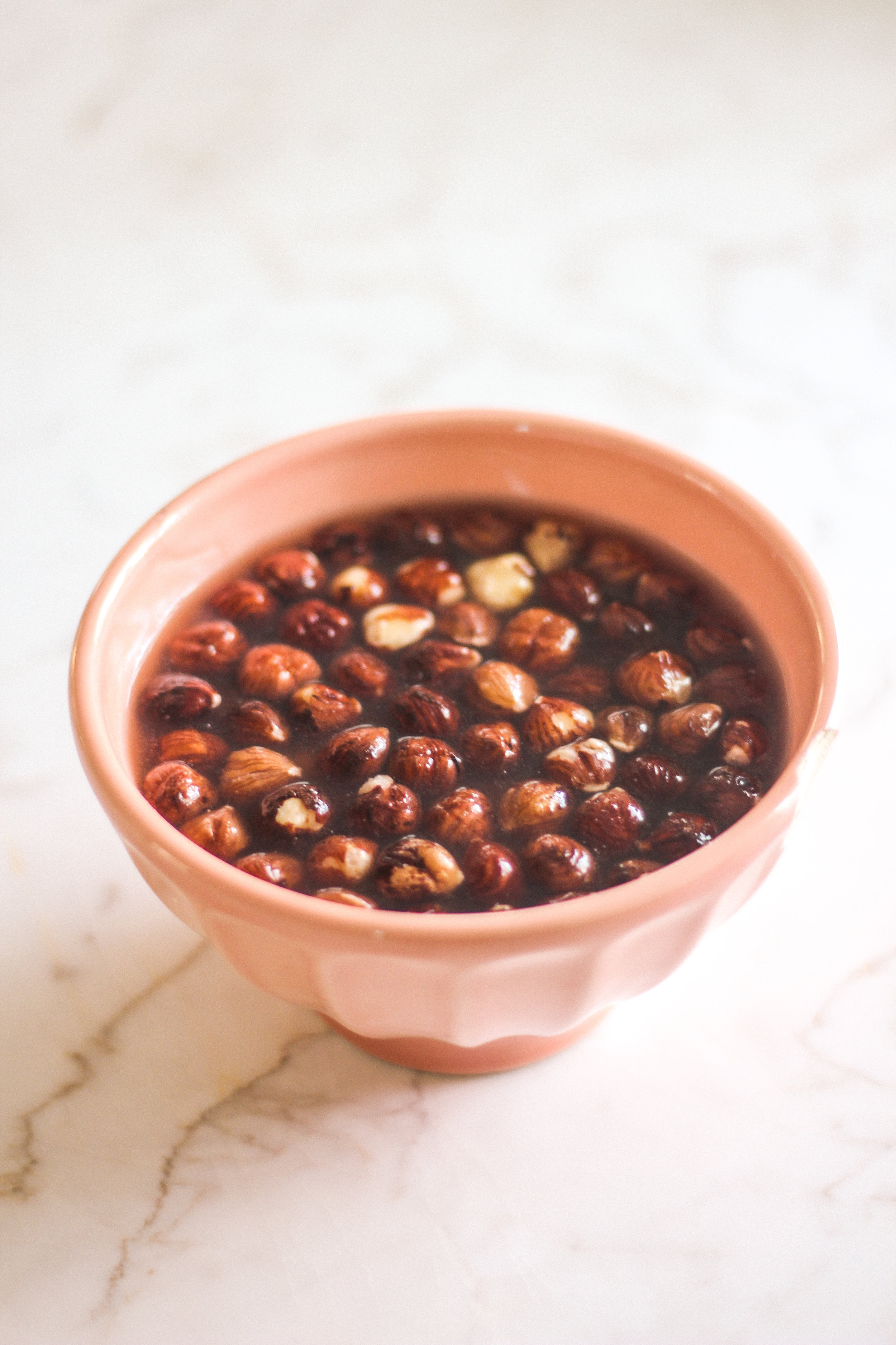 Nuts and seeds should always be rinsed well after soaking, and the soaking water should always be discarded.