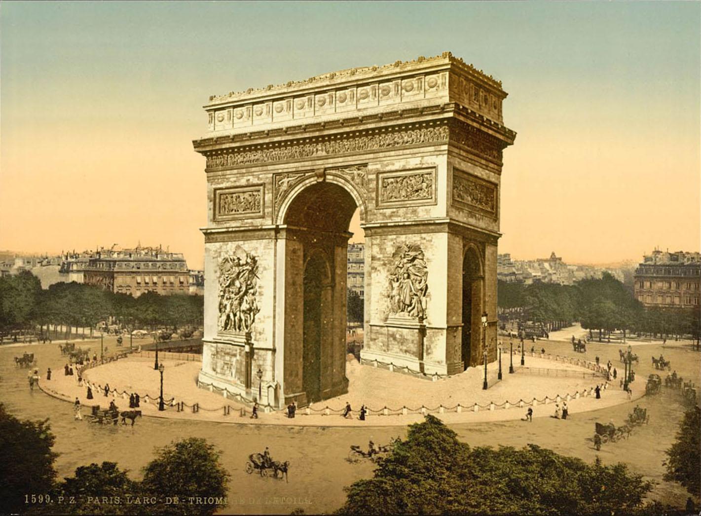 Roger Shepard's Arc de Triomphe