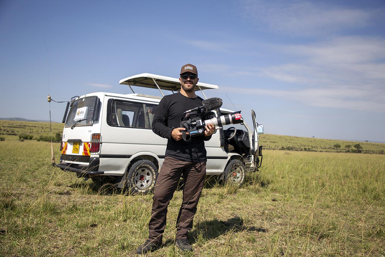 Zach in Kenya
