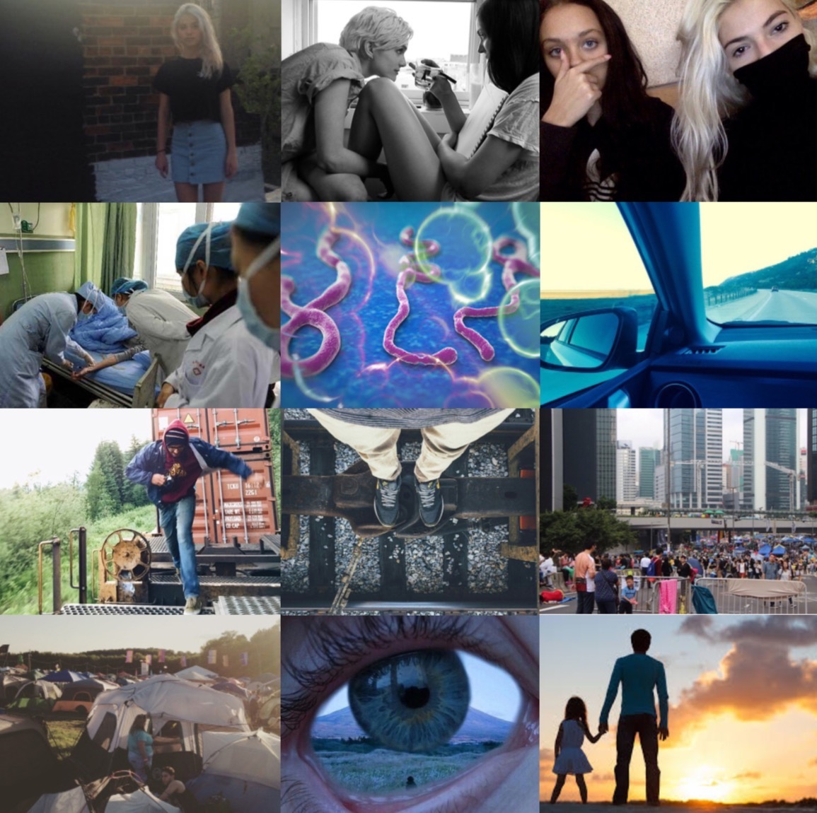 Images by Tafv Sampson, Kit Keenan, and others