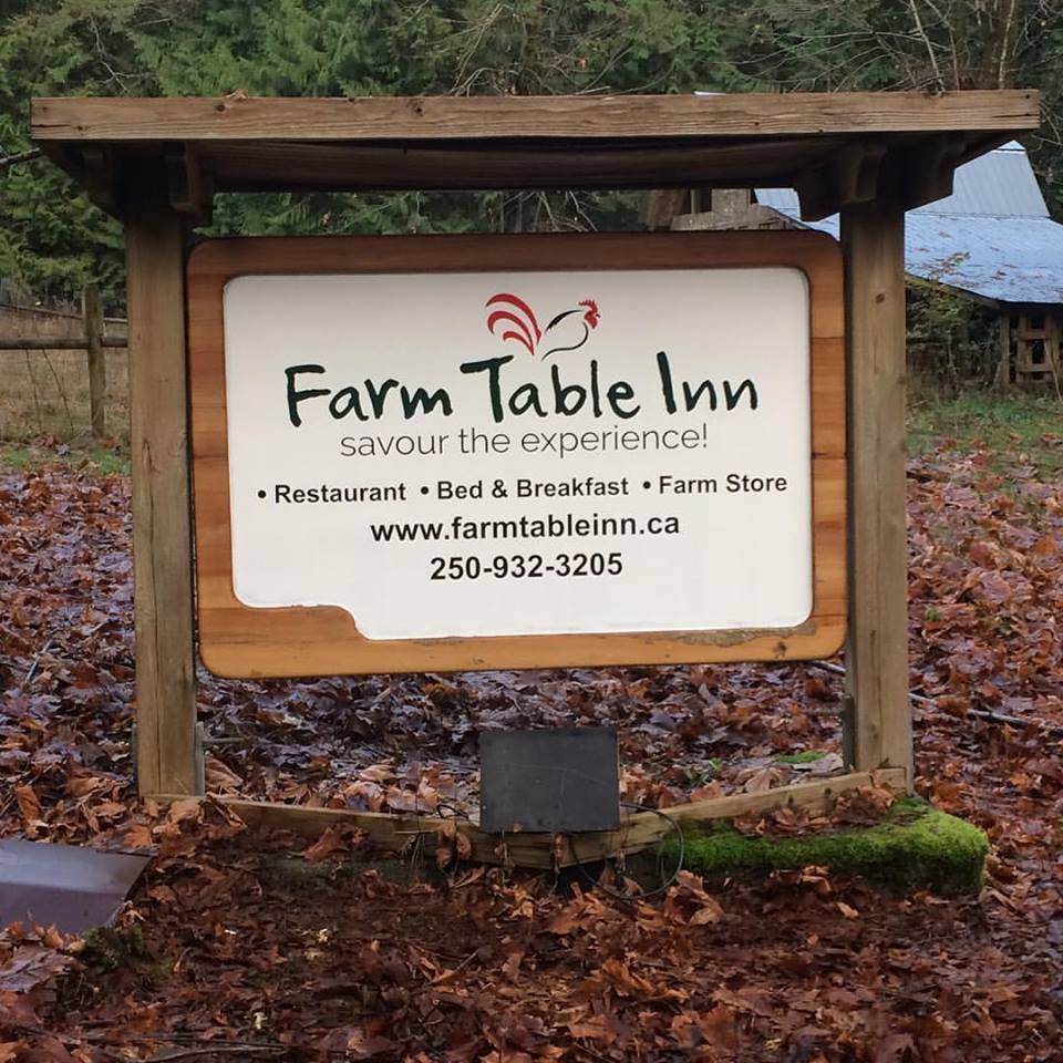 The Entrance Sign to our Farm