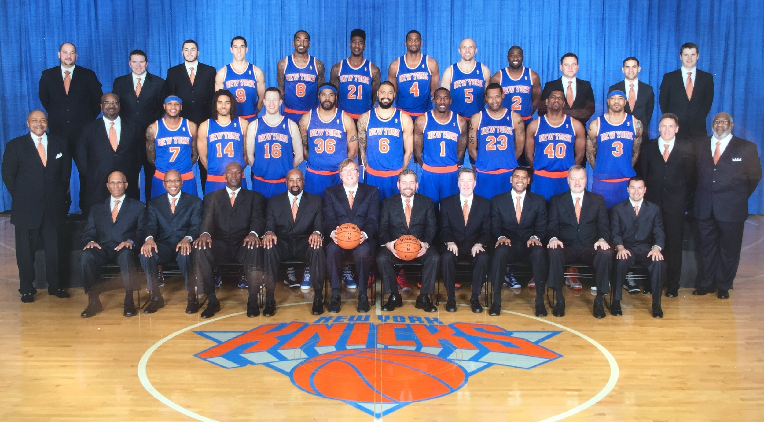 New York Knicks Professional Basketball Team