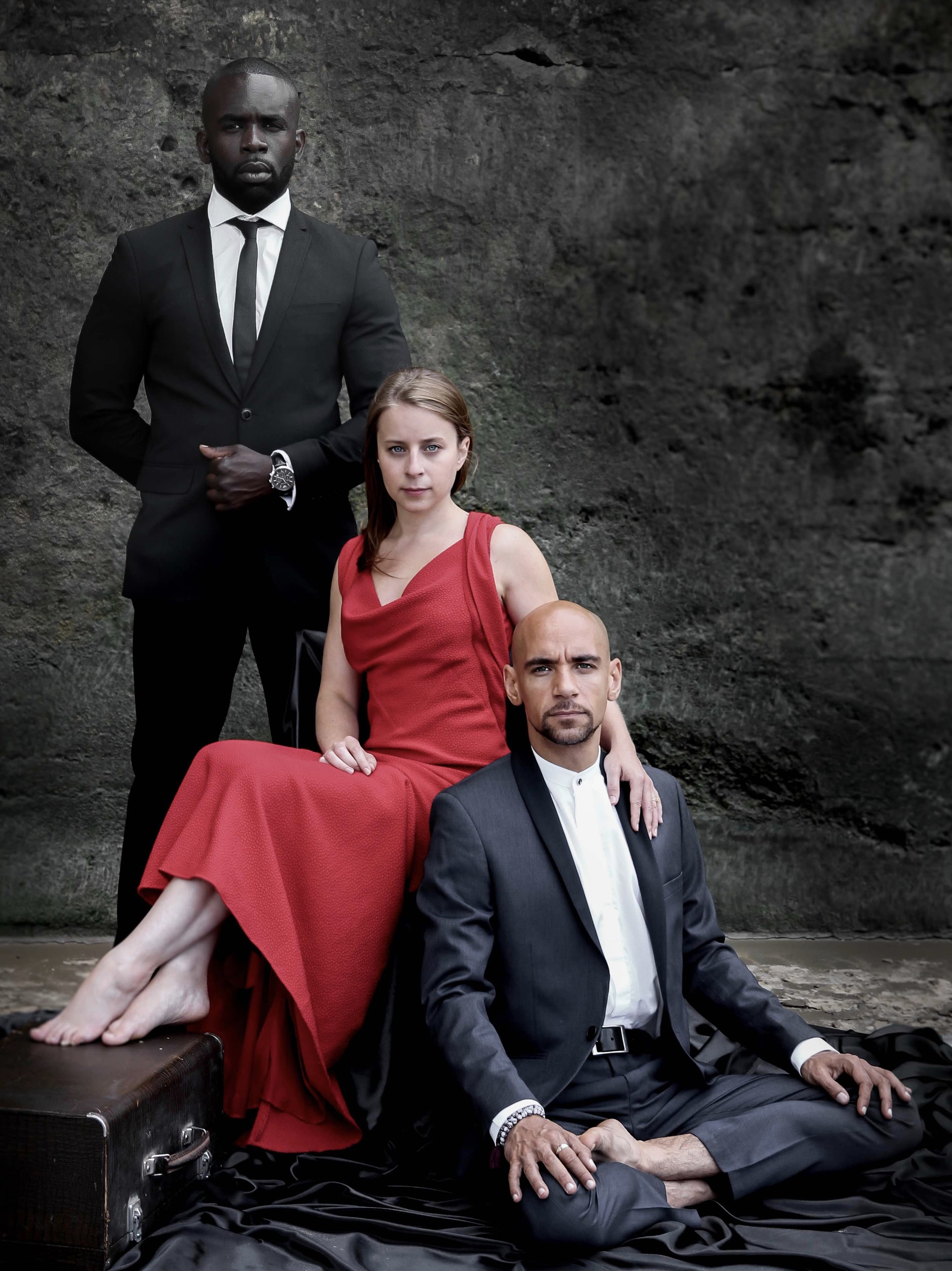 The combined forces of Jimmy Akingbola, Fraser Ayres and Minnie Ayres