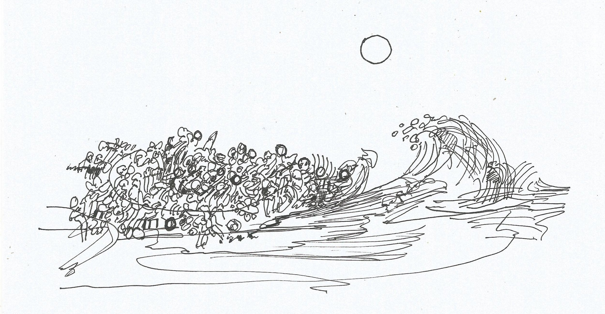 Dibujo de Felipe Márquez