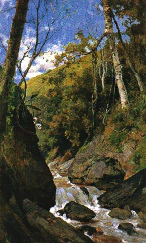 Cascada de Catuche   Arturo Michelena   1898