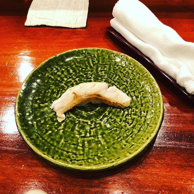 学会で夜は寿司をいただきました #のどぐろ #すしあらい #新潟