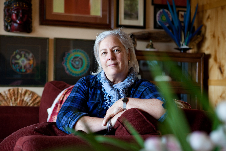 Tiahna Skye, 57, at her home in Bend