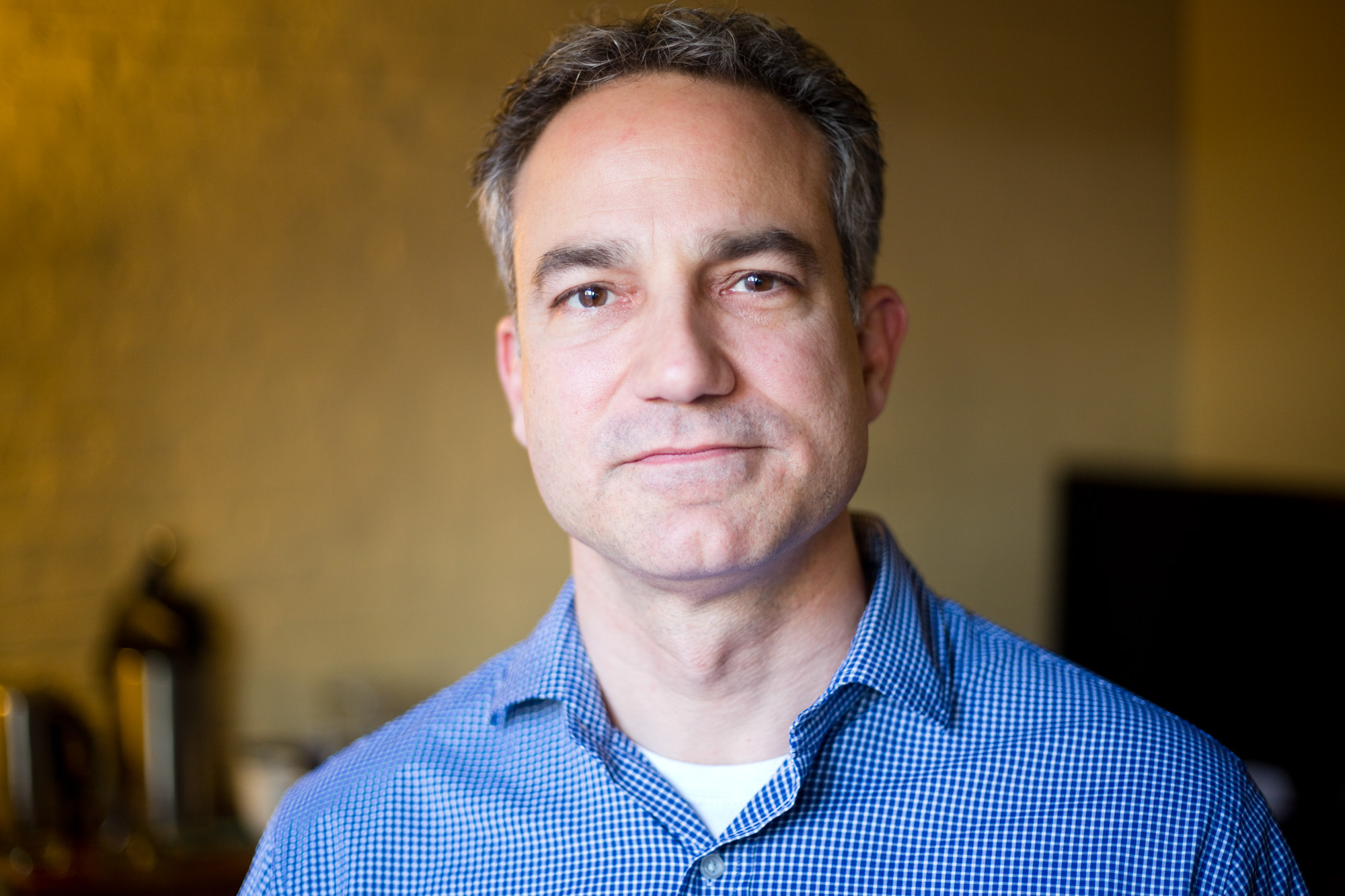 Bill Moseley, 49, at his office