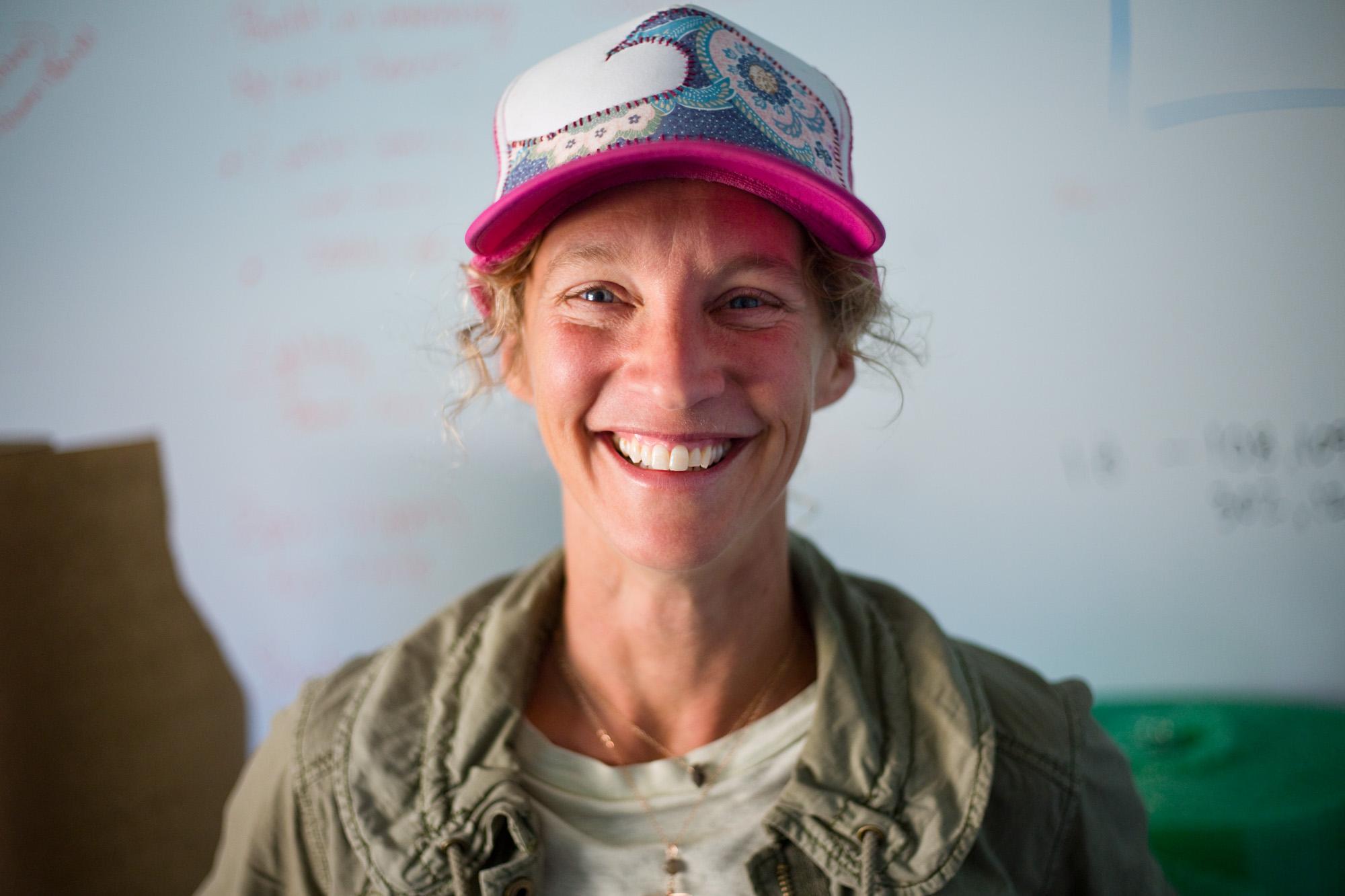 Michelle Mitchell, 42, at Humm Kombucha
