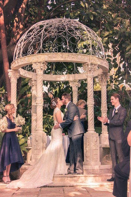 Wedding Ceremony Garden Venue