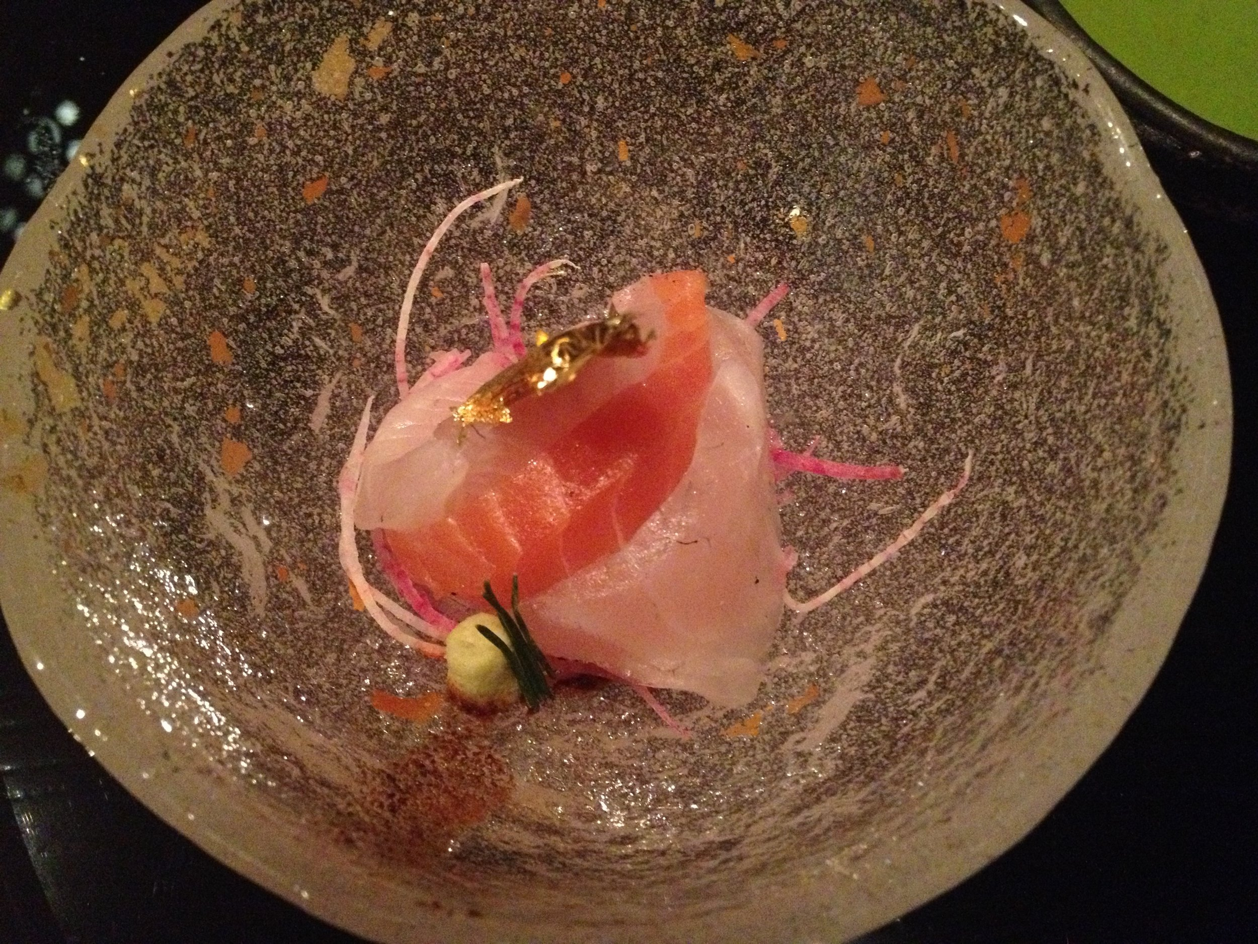 Sashimi at Next, one of the few places in the Midwest I feel comfortable eating raw fish.