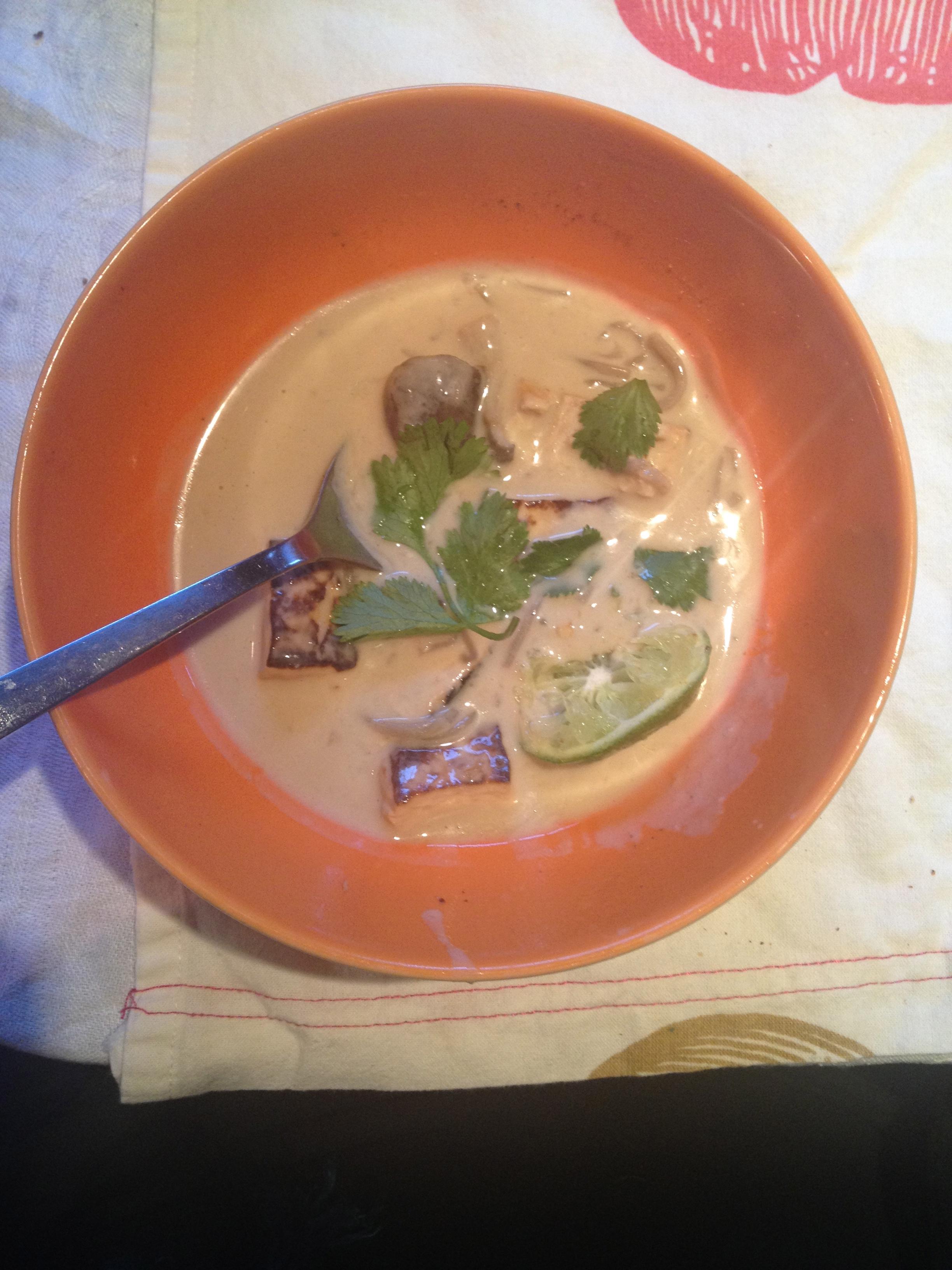 Vegan Thom Kha Soup