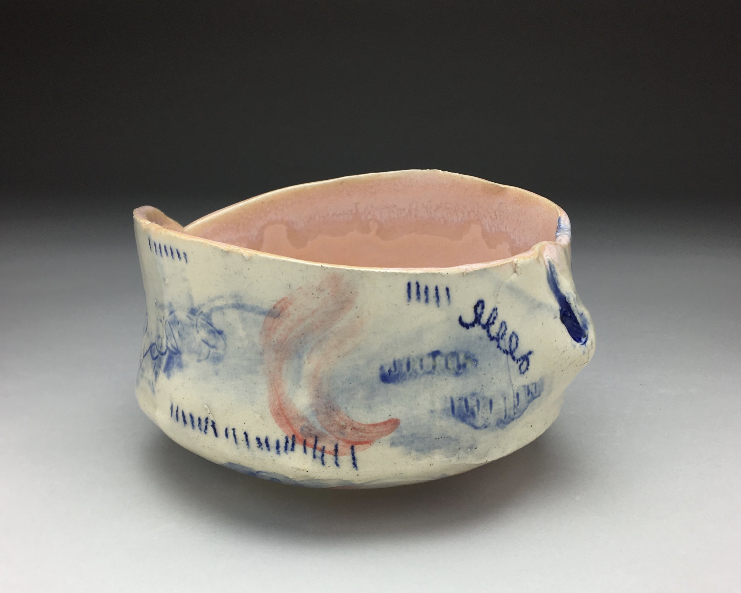 Red-Blue Bowl , alternative view 1