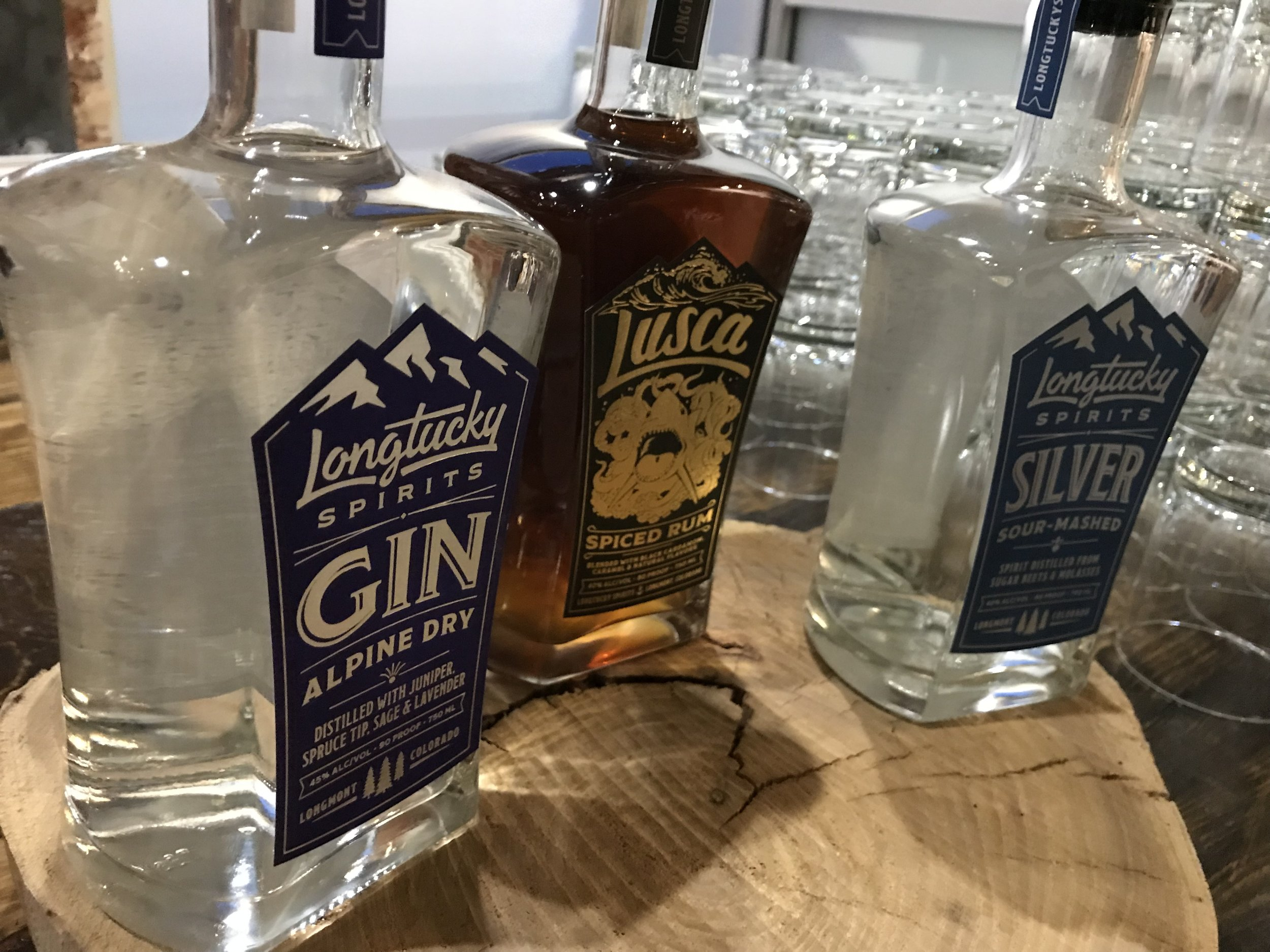 """Longmont's new distillery Longtucky greeted guests with a """"Blushing Bride"""" cocktail."""