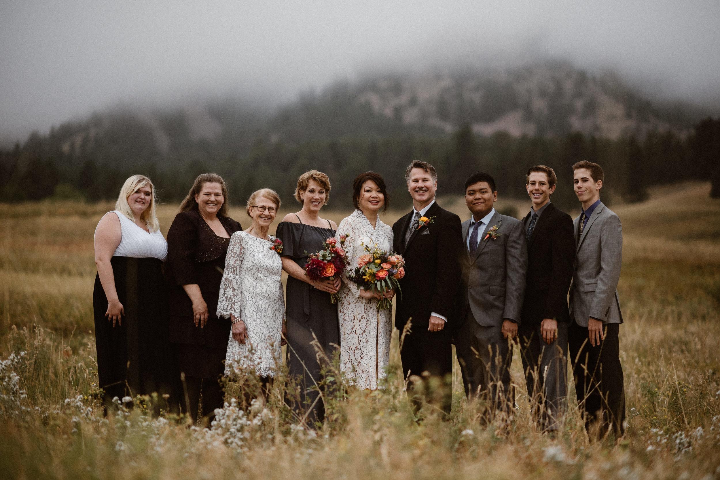 Chautauqua Park Wedding in Boulder, Colorado