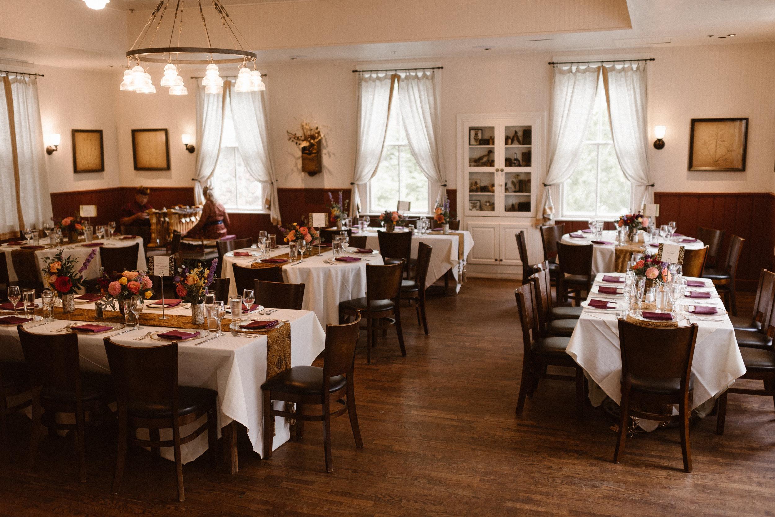 Chautauqua Dining Hall Wedding Reception, Boulder, Colorado