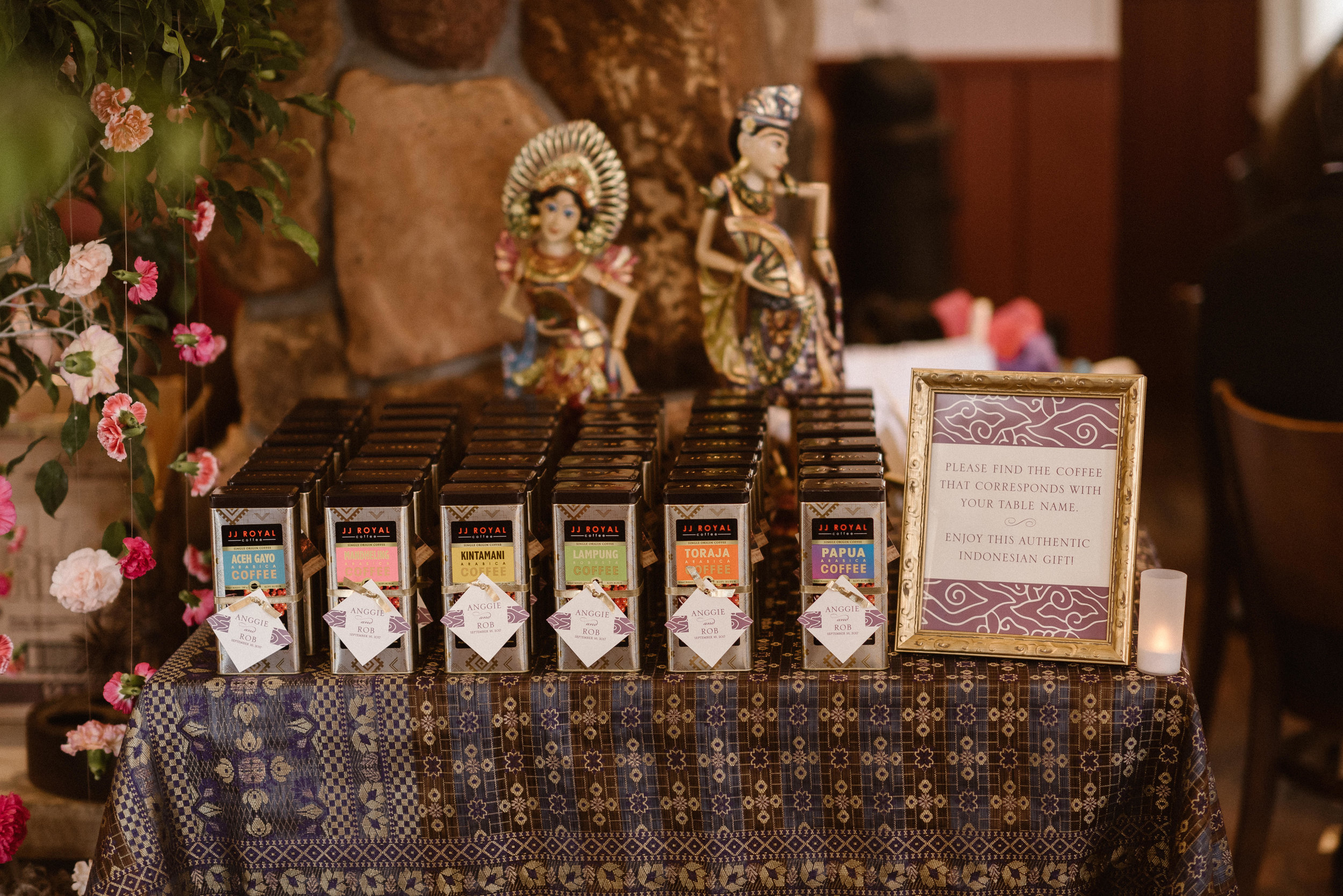 Chautauqua Dining Hall Wedding Favors