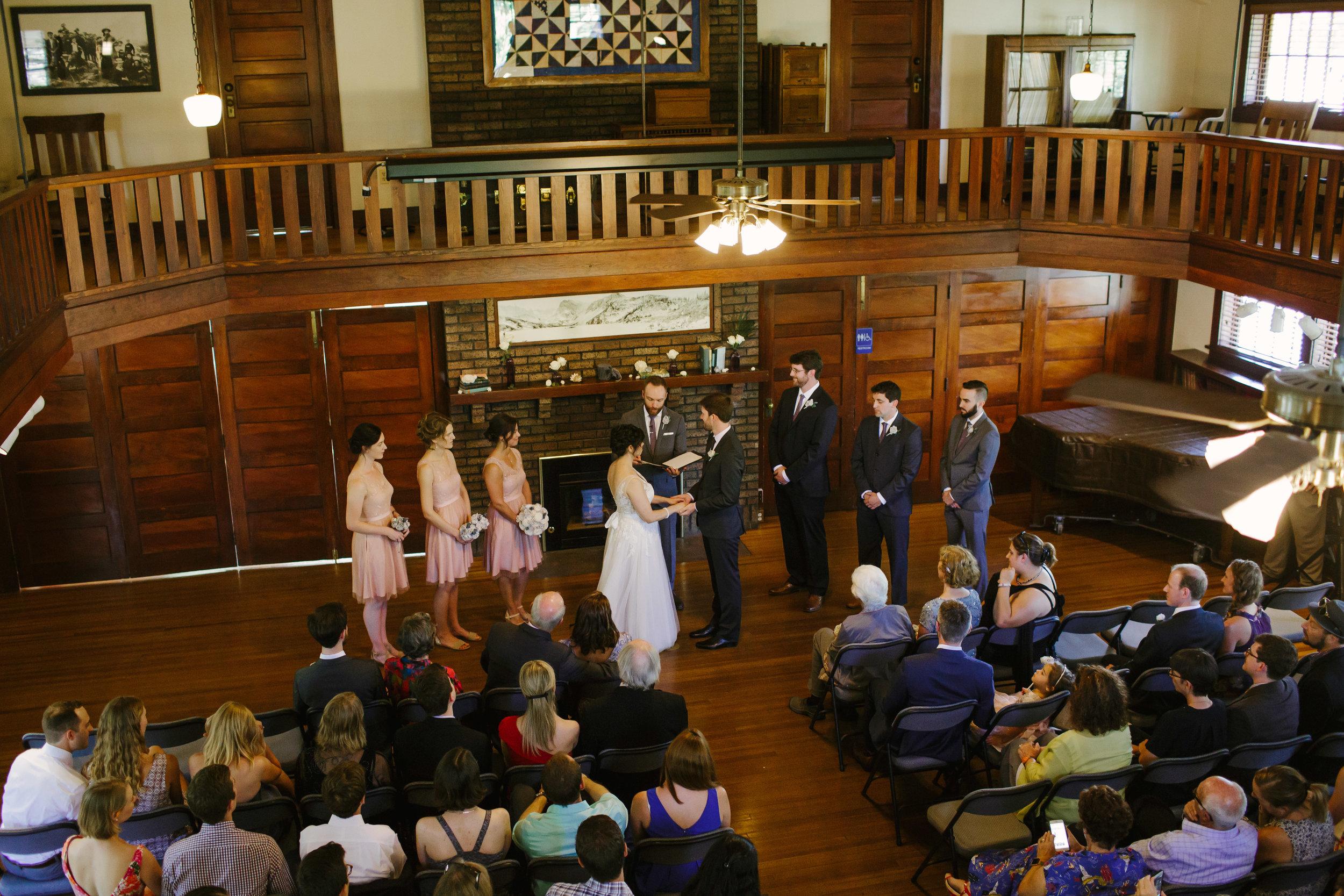 Chautauqua Grand Assembly Wedding Ceremony
