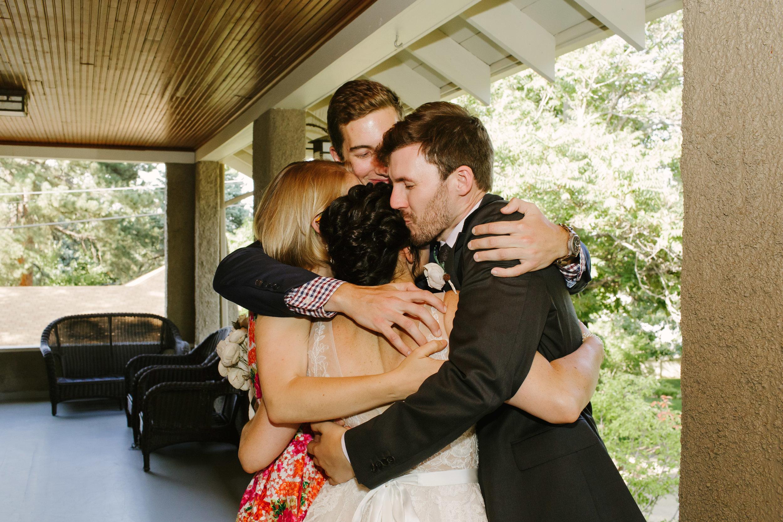 Family Celebrates Wedding at Chautauqua Grand Assembly