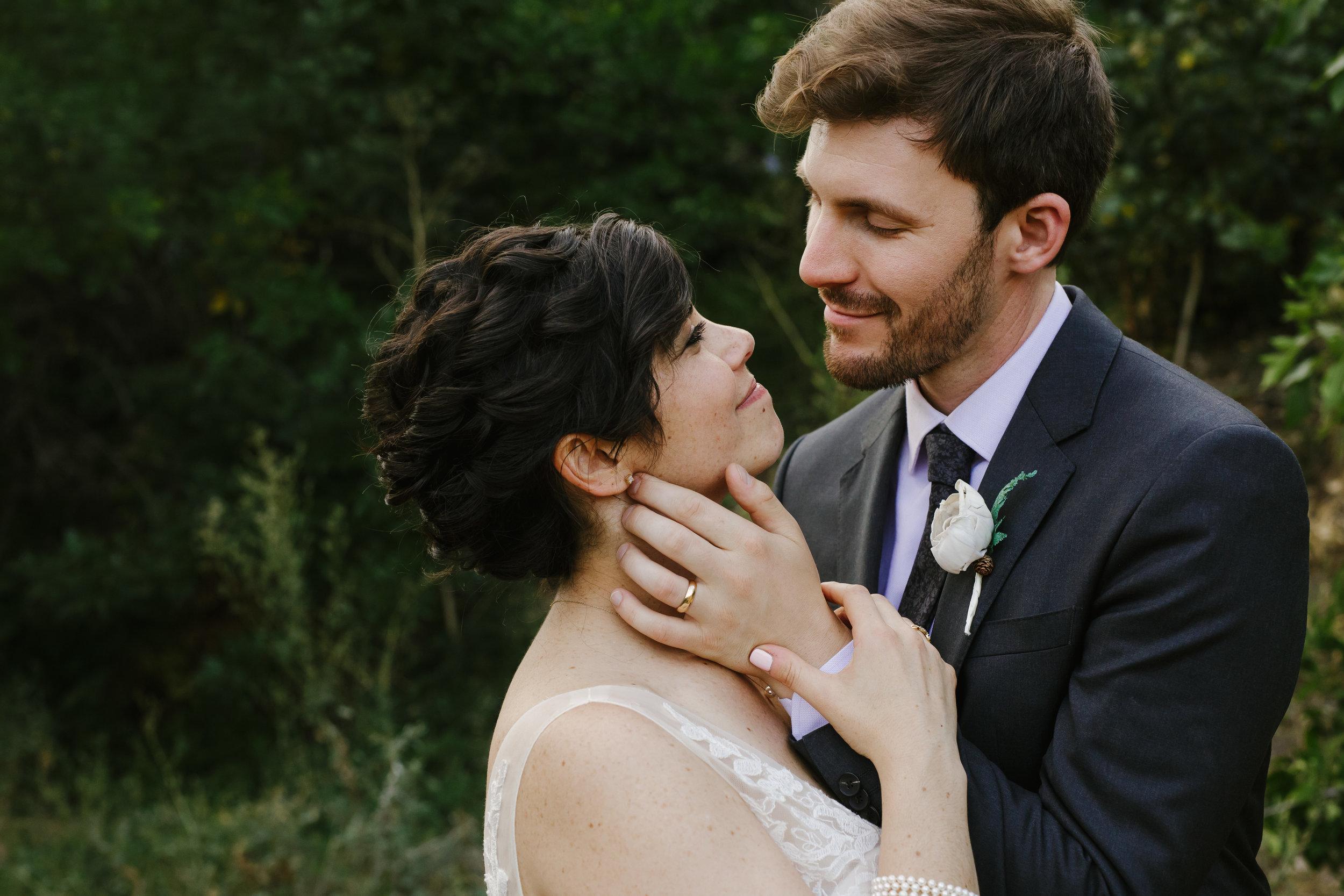 Boulder Bride and Groom