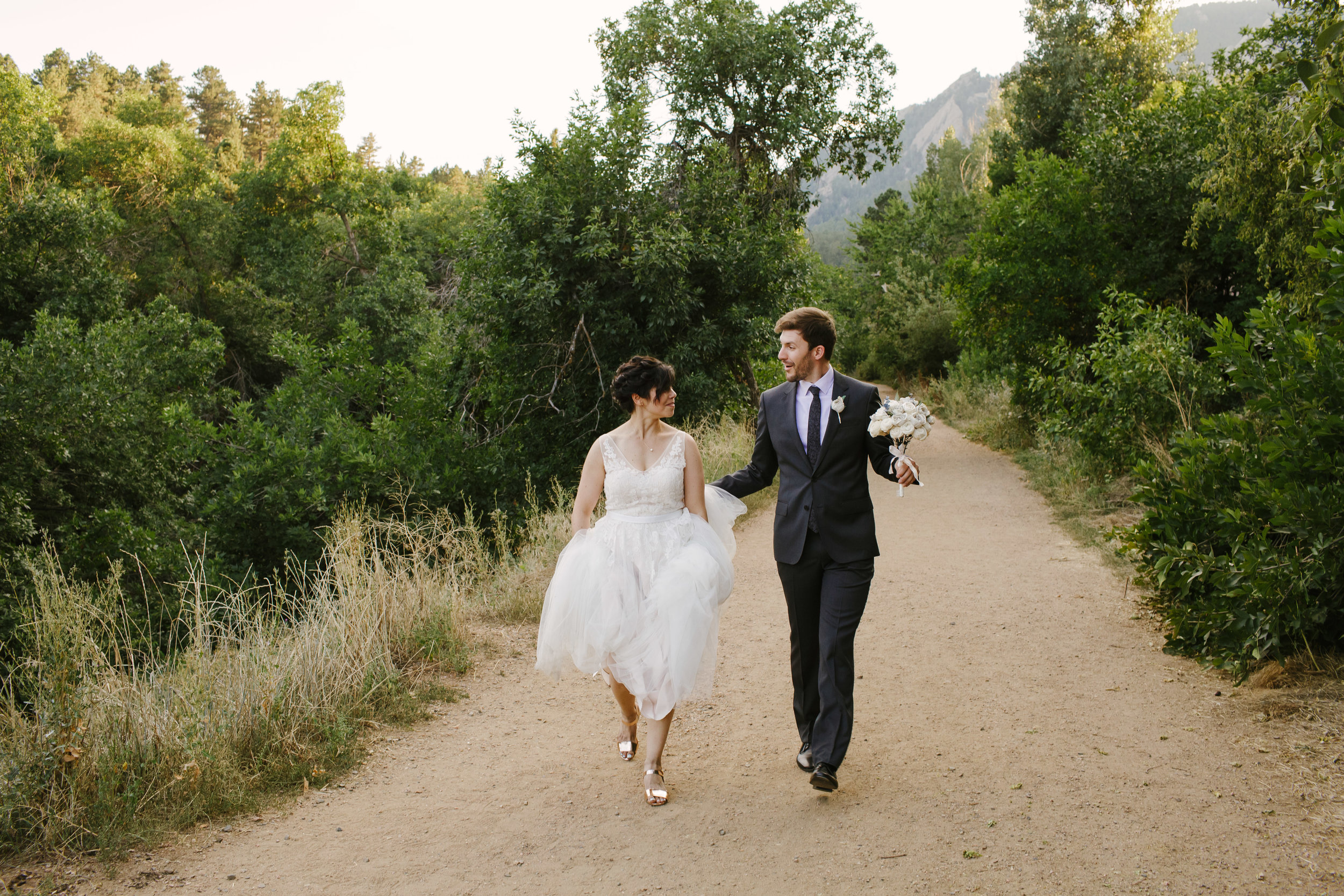 Chautauqua Park Wedding Day Photos