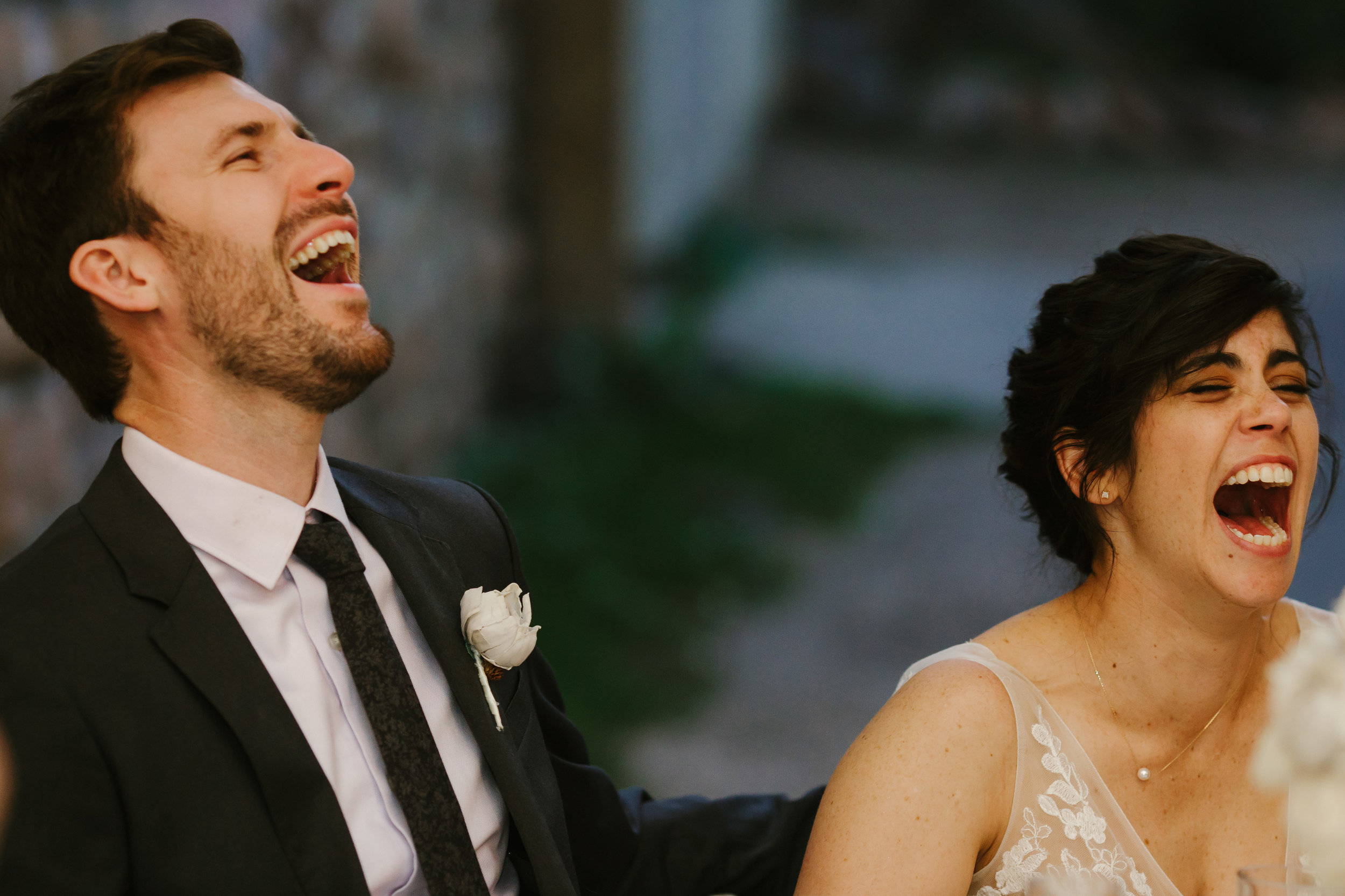 Boulder Bride and Groom Celebrating