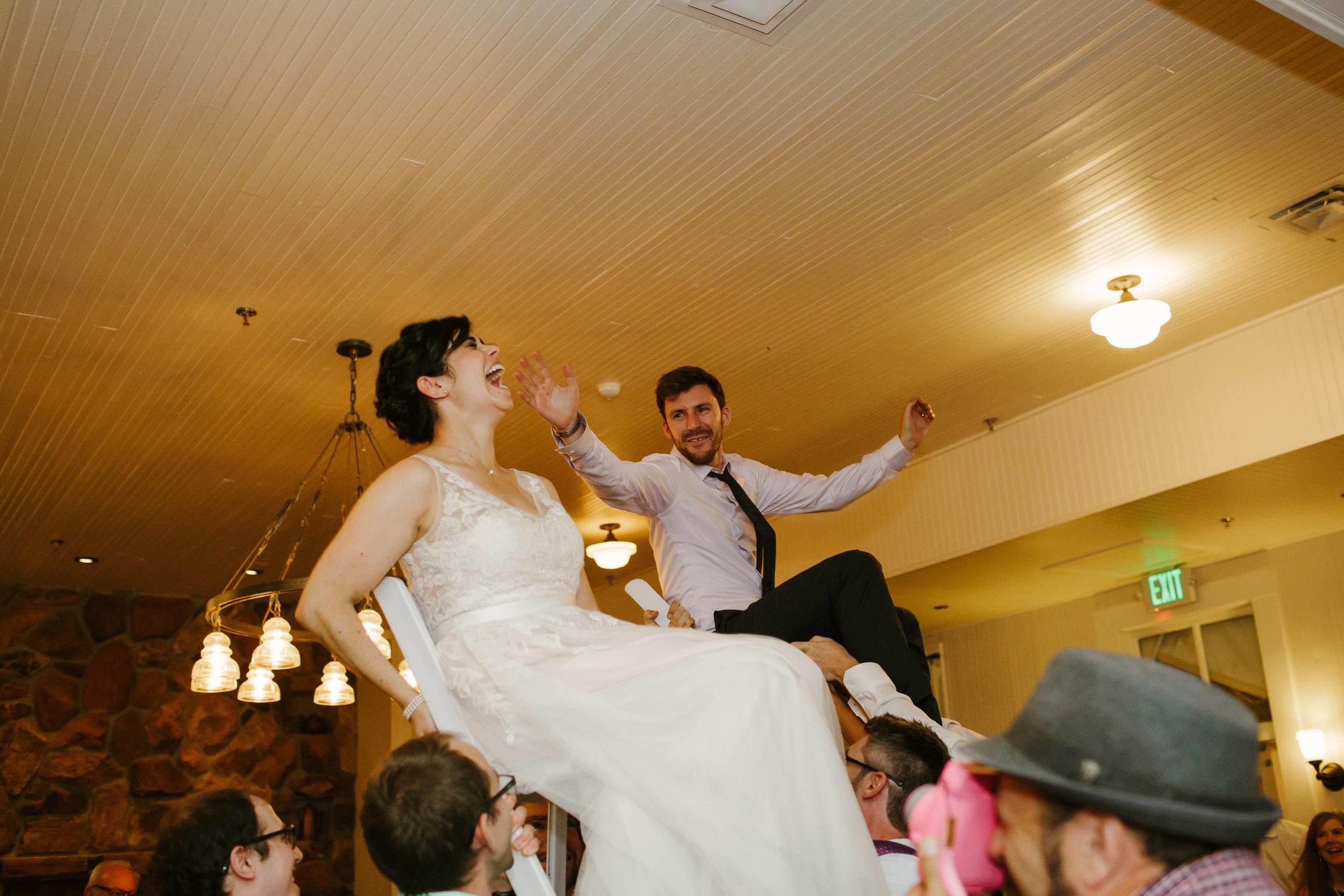Jewish Chair Dance at Chautauqua Dining Hall