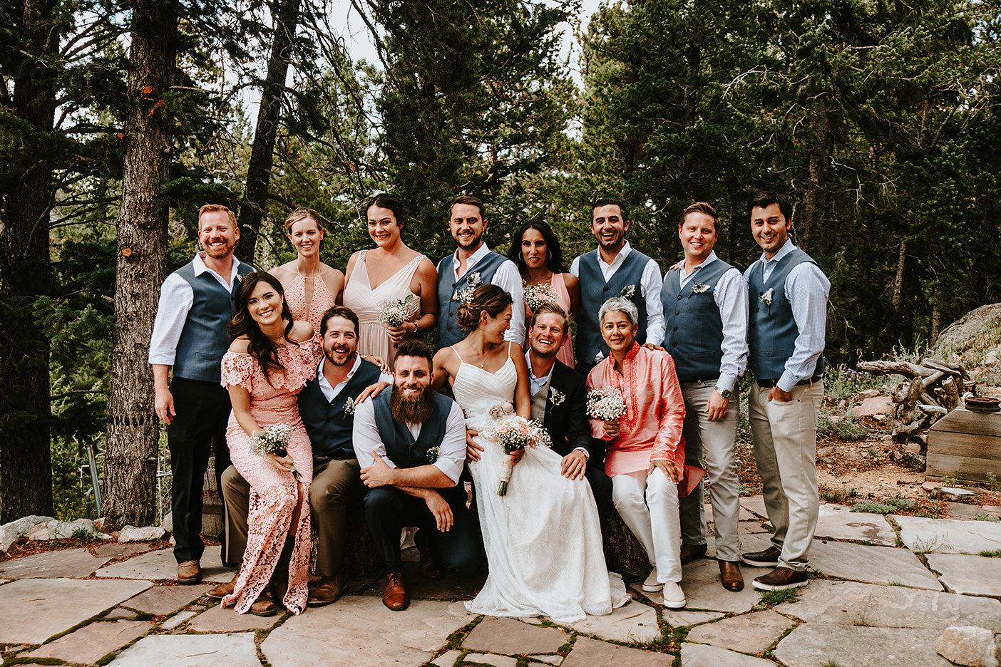 Nederland, Colorado Bridal Party