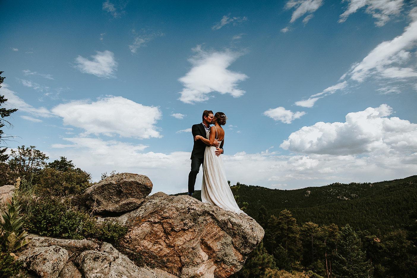 Nederland, Colorado Wedding Photography