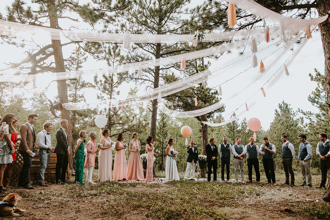 Nederland, Colorado Outdoor Wedding Ceremony