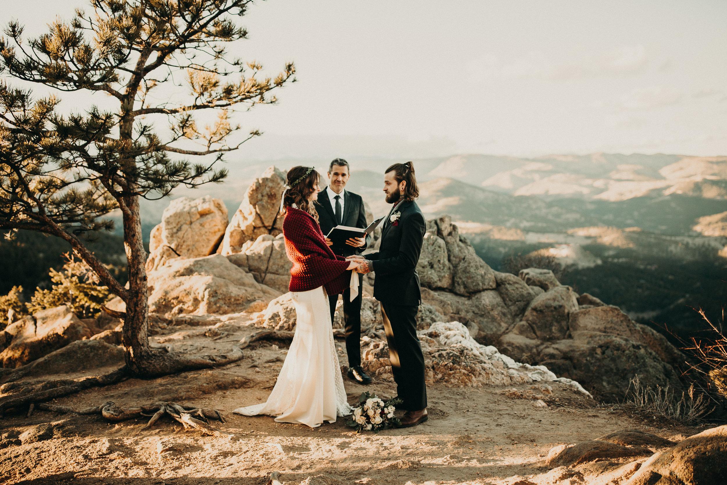 Boulder Elopement Ceremony