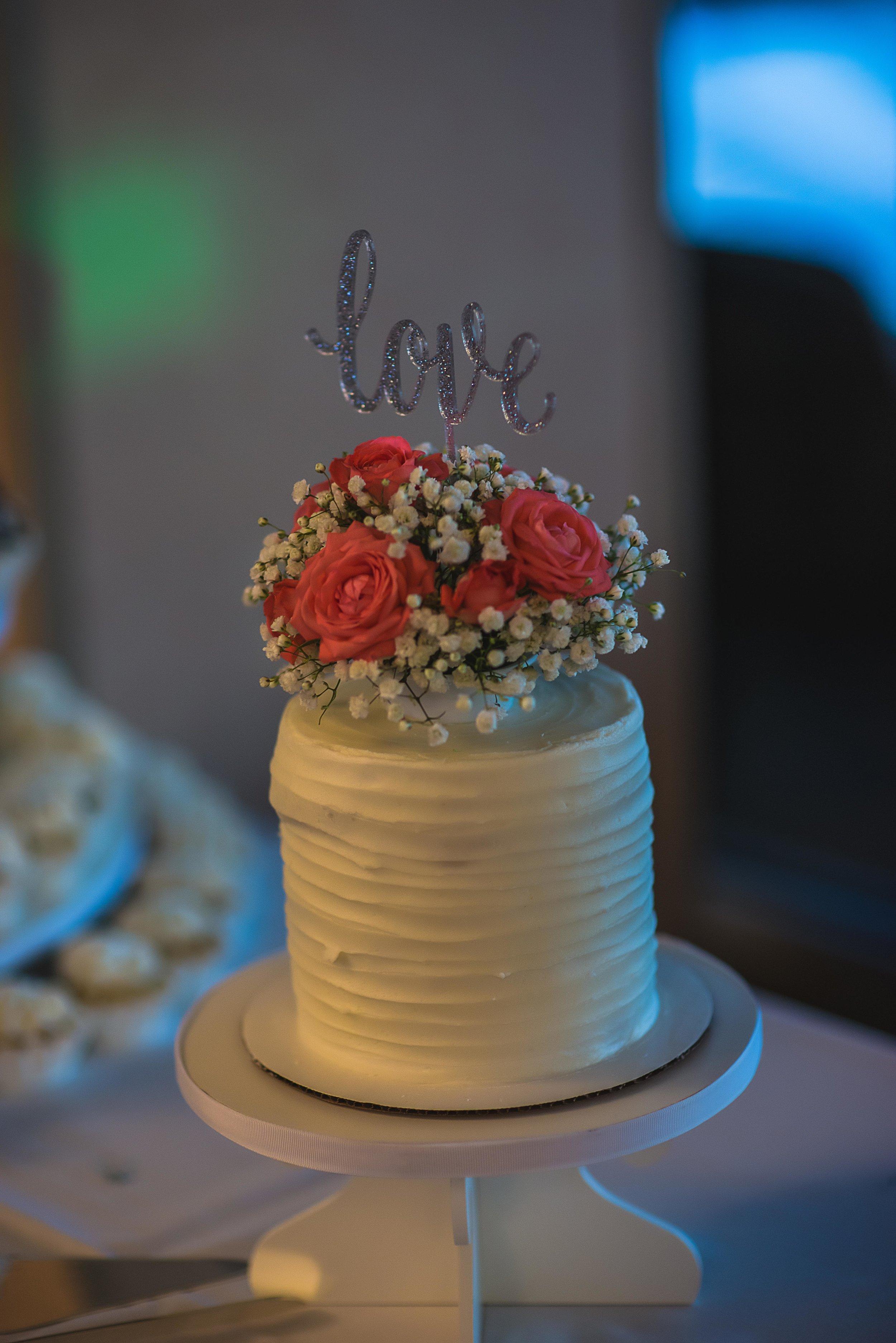 Wedding Cake at Folsom Field