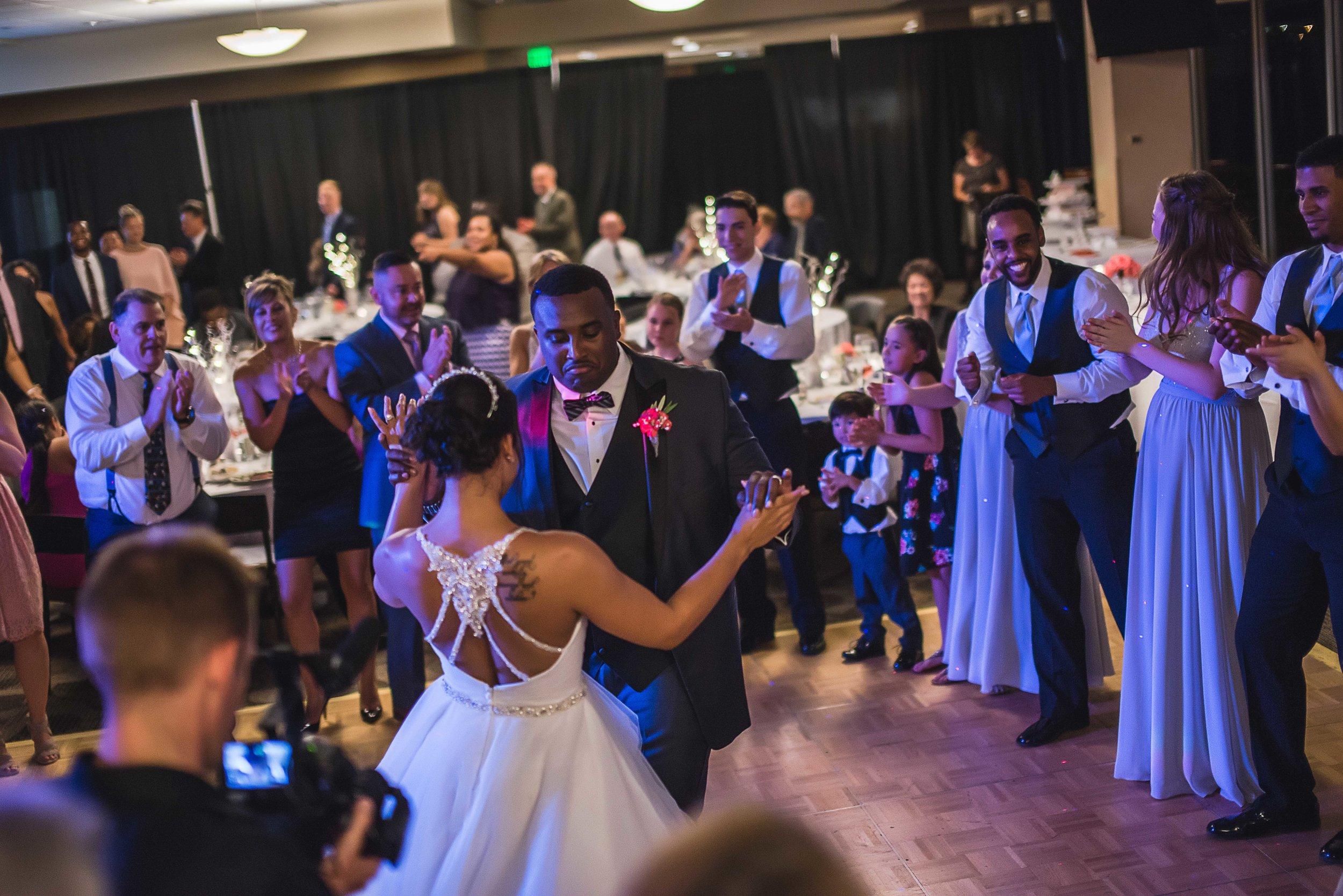 Folsom Field Wedding Reception