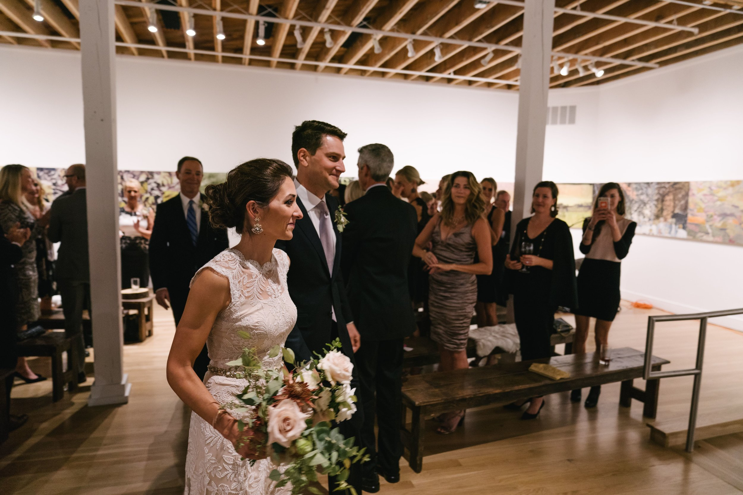 BMoCA Wedding Ceremony