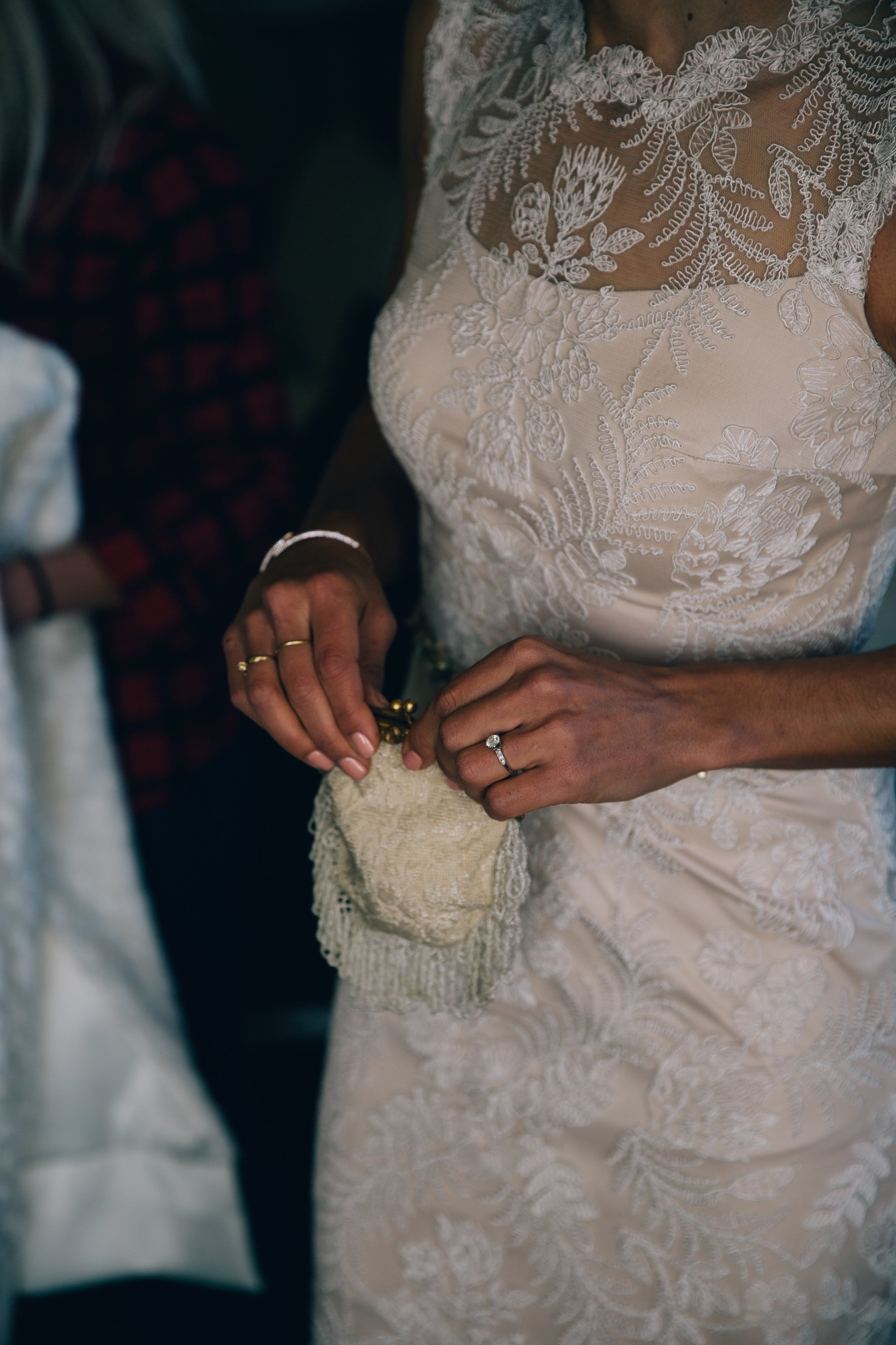 Boulder Bride with Purse