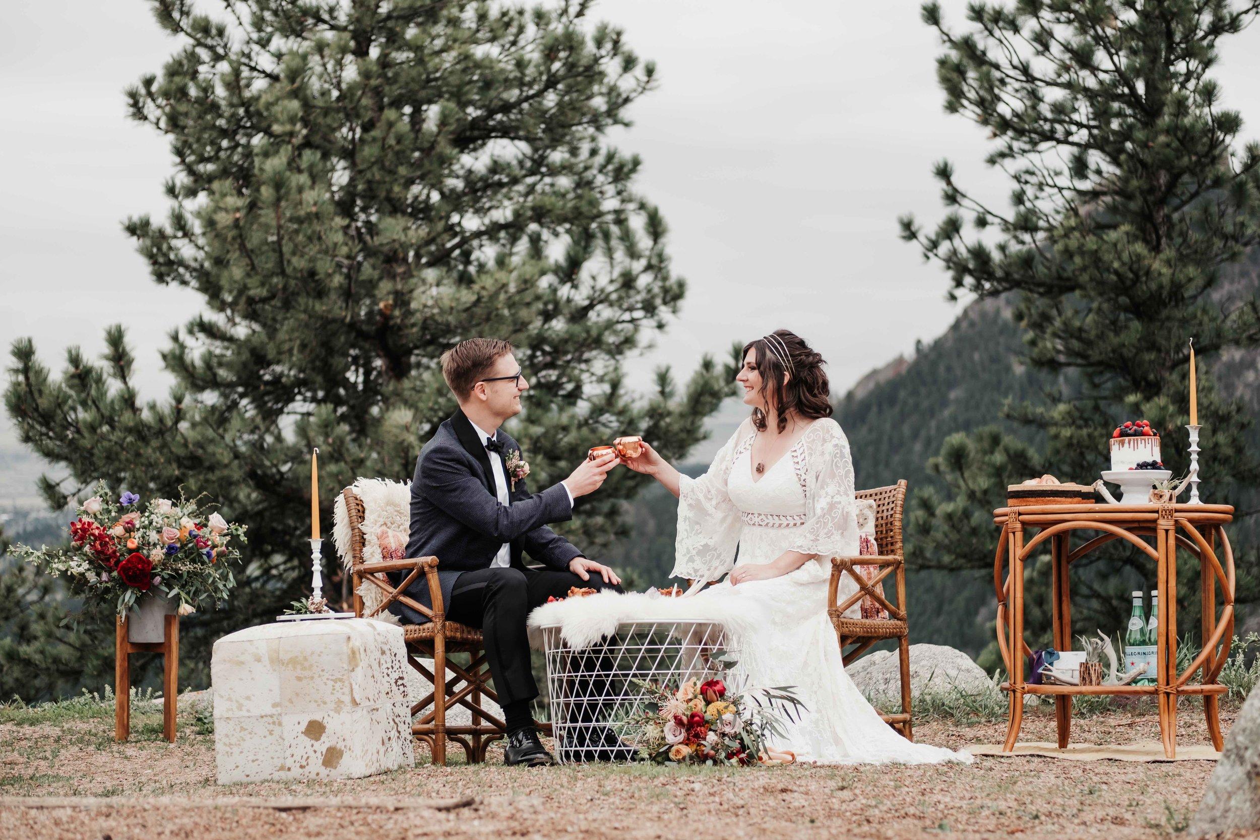 Sunrise Amphitheater Wedding Ceremony Brunch