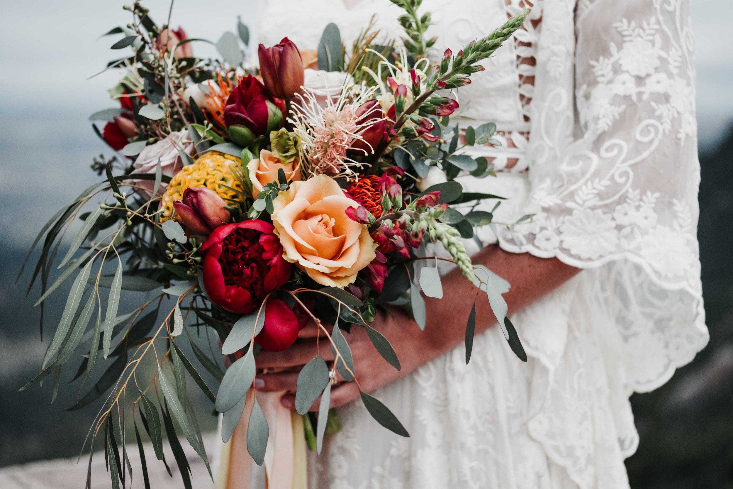 Boulder Bridal Bouquet