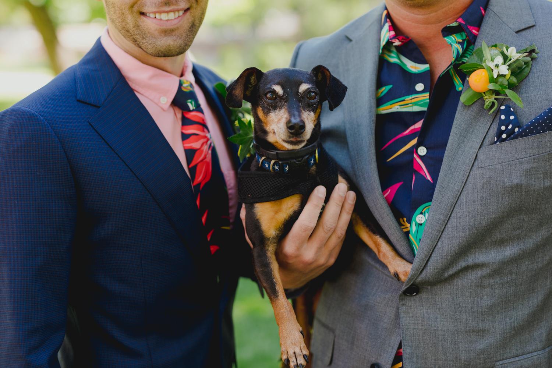 CNN's VP Matt Dornic and Air Force Maj. Kyle Volpe Wed in Boulder Kicking Off Pride Month