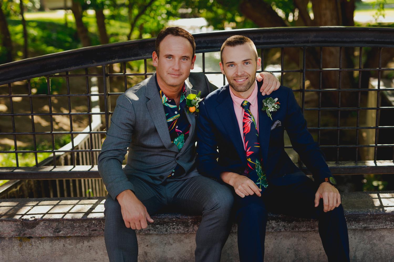 Boulder Gay Wedding