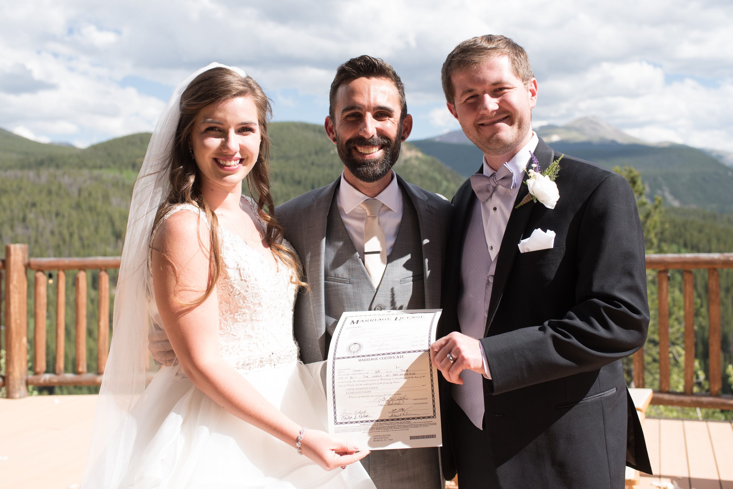 Breckenridge Destination Wedding